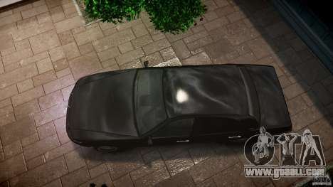 Washington FBI Car for GTA 4 right view