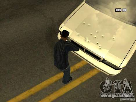 Holes from bullets for GTA San Andreas forth screenshot