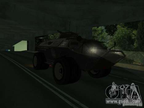 APC from GTA TBoGT IVF for GTA San Andreas left view