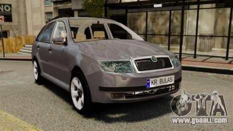 Skoda Fabia Combi for GTA 4
