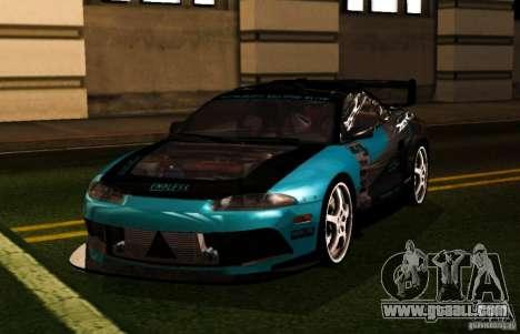 Mitsubishi Eclipse Elite for GTA San Andreas right view