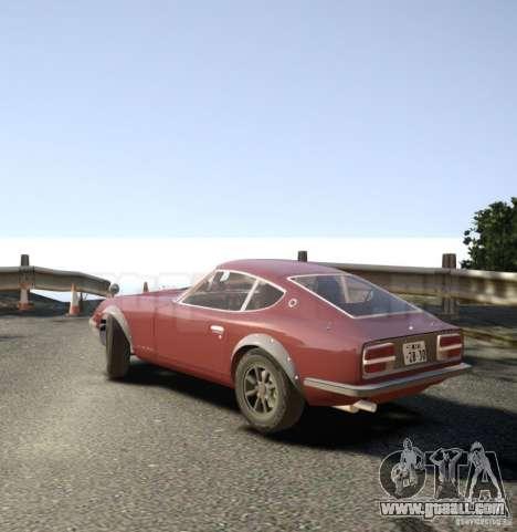 Nissan Fairlady Z HS30-240Z for GTA 4 left view