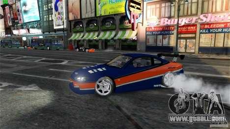 Nissan Silvia S15 Tokyo Drift for GTA 4 inner view