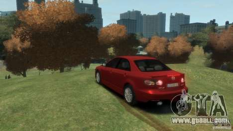 Mazda 6 MPS for GTA 4 left view