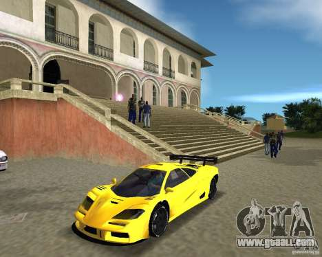 McLaren F1 LM for GTA Vice City