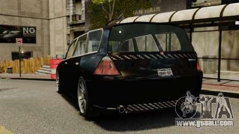 Honda Odyssey for GTA 4 back left view