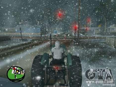 Snowfall for GTA San Andreas