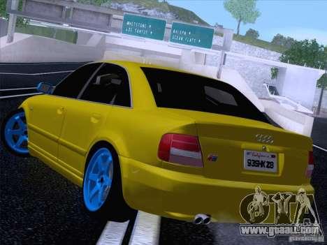 Audi S4 DatShark 2000 for GTA San Andreas left view