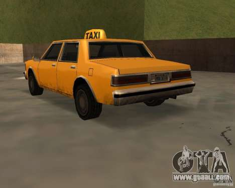 LV Taxi for GTA San Andreas left view