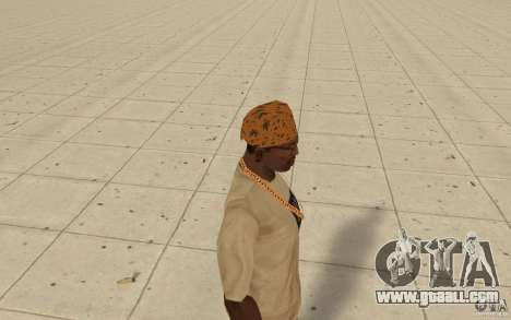 Bandana maryshuana for GTA San Andreas second screenshot