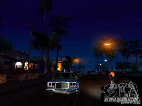 Graphics from the console versions for GTA San Andreas forth screenshot