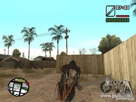 Sword Ezio for GTA San Andreas forth screenshot