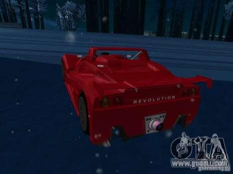 Lada Revolution for GTA San Andreas right view