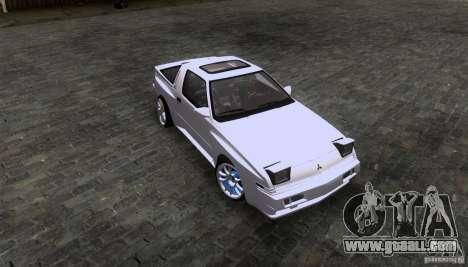 Mitsubishi Starion for GTA San Andreas