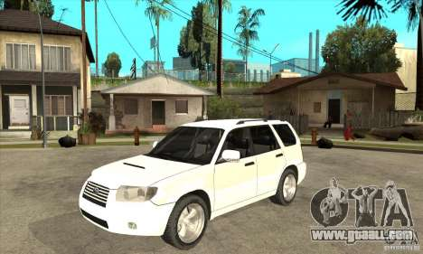 Subaru Forester 2005 for GTA San Andreas