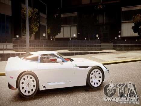 Alfa Romeo TZ3 Stradale Zagato for GTA 4 inner view