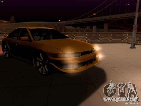 Mitsubishi Galant 2002 for GTA San Andreas side view