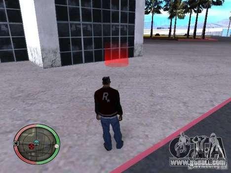 Concert of the AK-47 v2 for GTA San Andreas sixth screenshot