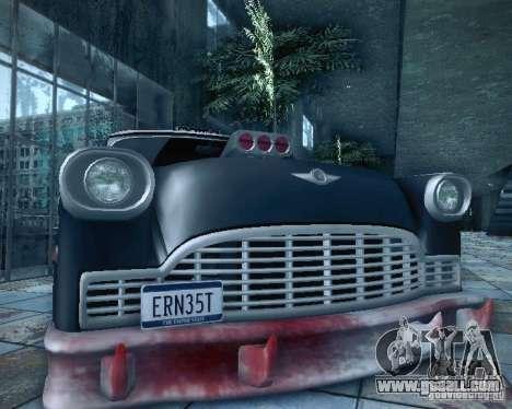 Diablo Cabbie HD for GTA San Andreas side view
