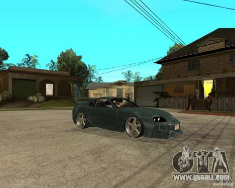 Toyota Supra Veilside for GTA San Andreas right view