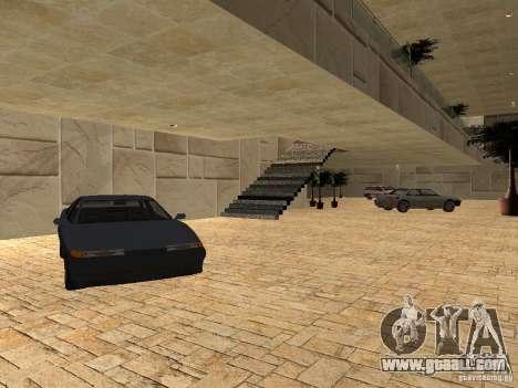San Fierro Car Salon for GTA San Andreas