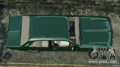 Chevrolet Chevette 1976 for GTA 4 right view