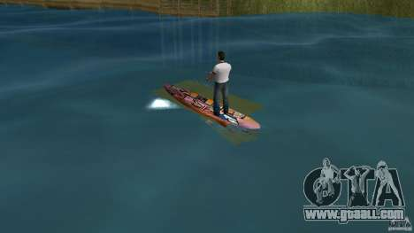 Surfboard 1 for GTA Vice City back left view