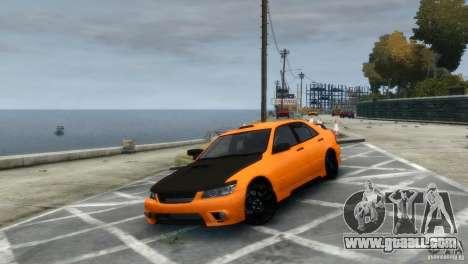 Lexus IS300 for GTA 4