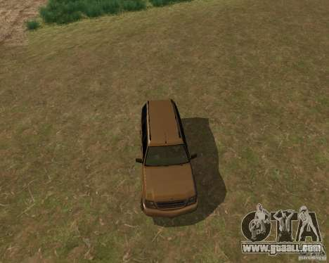 Cavalcade of GTA 4 for GTA San Andreas back left view