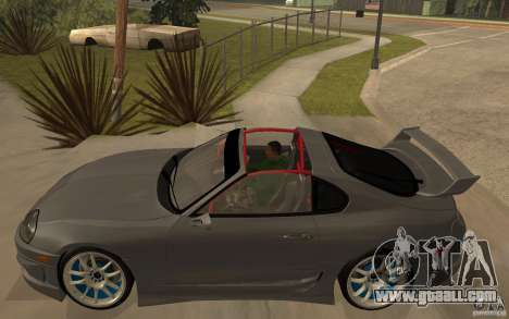 Toyota Supra Rz The Bloody Pearl 1998 for GTA San Andreas left view
