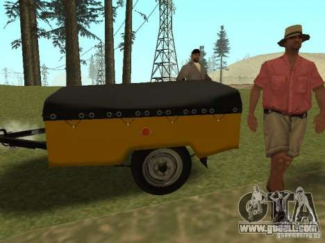 MAZ 8114 Calf for GTA San Andreas left view