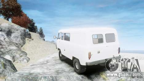 UAZ 3909 for GTA 4 right view