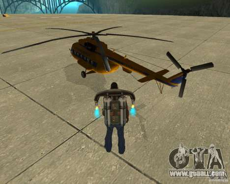 MI-8 for GTA San Andreas left view