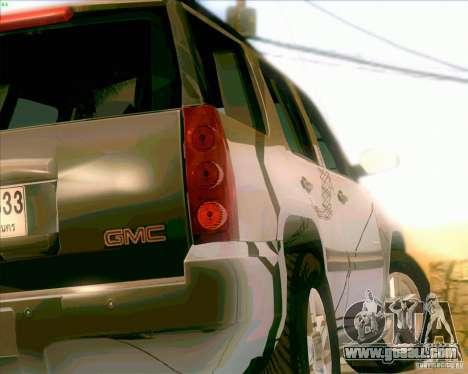 GMC Yukon Denali 2007 for GTA San Andreas right view