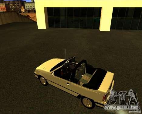 Chevrolet Kadett GSI 2.0 Conversivel (1991-1995) for GTA San Andreas left view