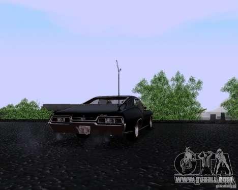 Super Natural ENBSeries for GTA San Andreas forth screenshot