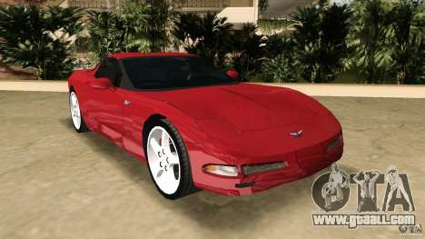 Chevrolet Corvette Z05 for GTA Vice City