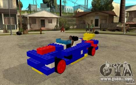 LEGO car for GTA San Andreas