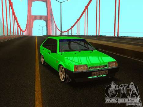 VAZ 2109 Winter for GTA San Andreas