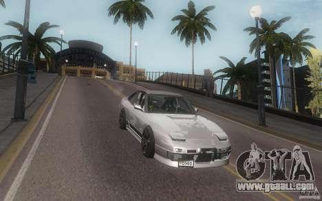 Nissan 180sx v2 for GTA San Andreas