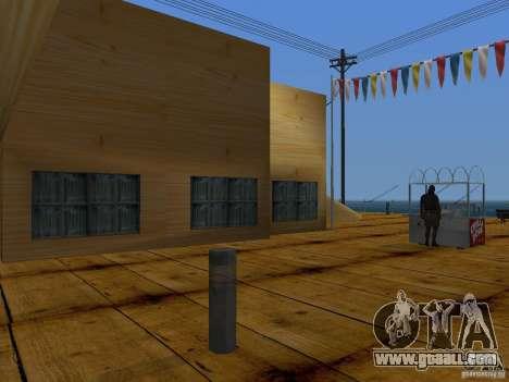 New Beach texture v2.0 for GTA San Andreas eighth screenshot