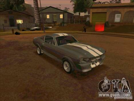 Ford Shelby GT500 Eleanor for GTA San Andreas left view
