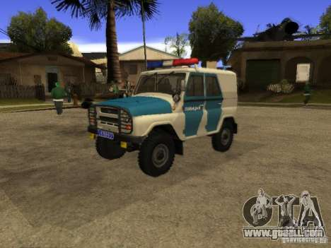 UAZ 31519 Police for GTA San Andreas