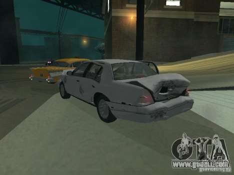 Ford Crown Victoria for GTA San Andreas engine