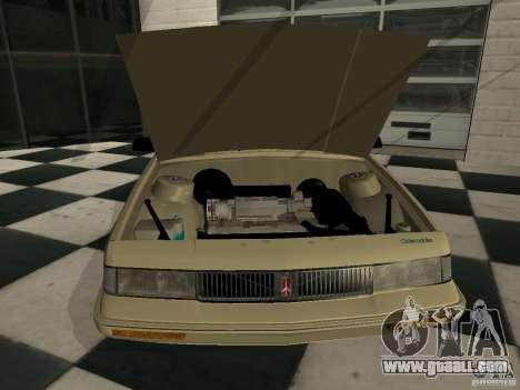 Oldsmobile Cutlass Cruiser 1993 for GTA San Andreas back left view