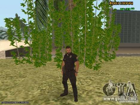 SAPD skins for GTA San Andreas second screenshot