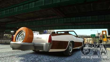 Buccaneer Final for GTA 4 left view