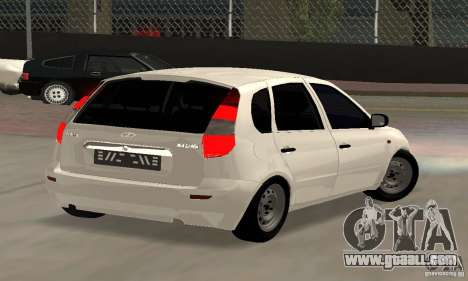 Lada Kalina Hatchback Stock for GTA San Andreas left view