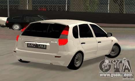 Lada Kalina Hatchback Stock for GTA San Andreas left view