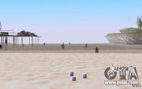 Reality Beach v2 for GTA San Andreas forth screenshot